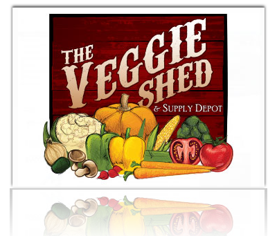 The Veggie Shed & Supply Depot Logo