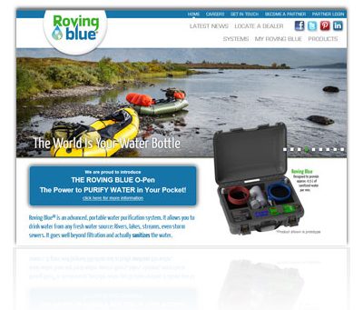 Roving Blue Portable Water Purification Systems