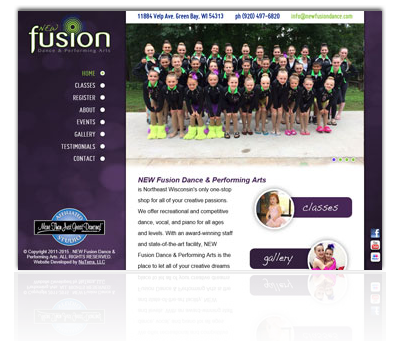NEW Fusion Dance and Performing Arts Website
