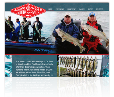 Nelson & Nelson Guide Service Website