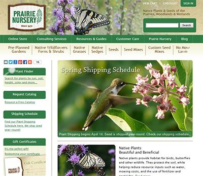 Prairie Nursery Home Page